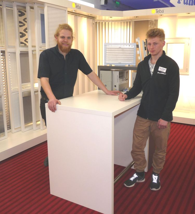 zwei junge tschechen absolvieren erstmals praktikum in goslar bbs 1 goslar am stadtgarten. Black Bedroom Furniture Sets. Home Design Ideas